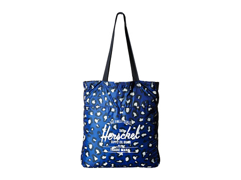 2.	Packable Travel Tote Bag in Leopard, Herschel Supply Co