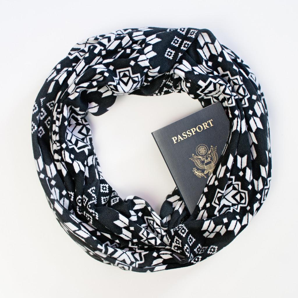 Passport Scarf, Speakeasy Travel Supply Co