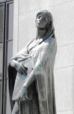 Statue of Veritas, Goddess of Truth, Wikipedia