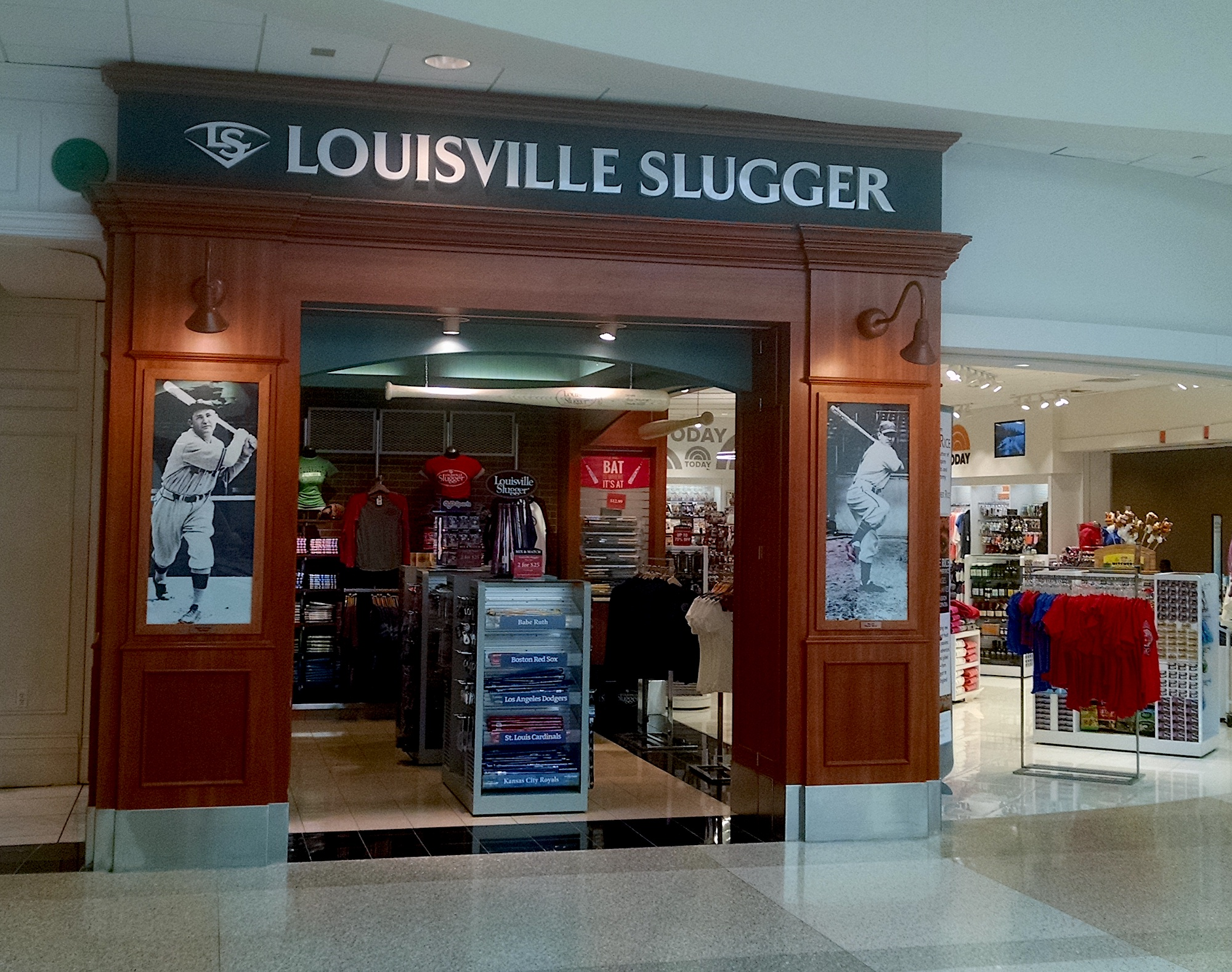 When I was a kid, the only things anyone wanted was a Louisville Slugger.