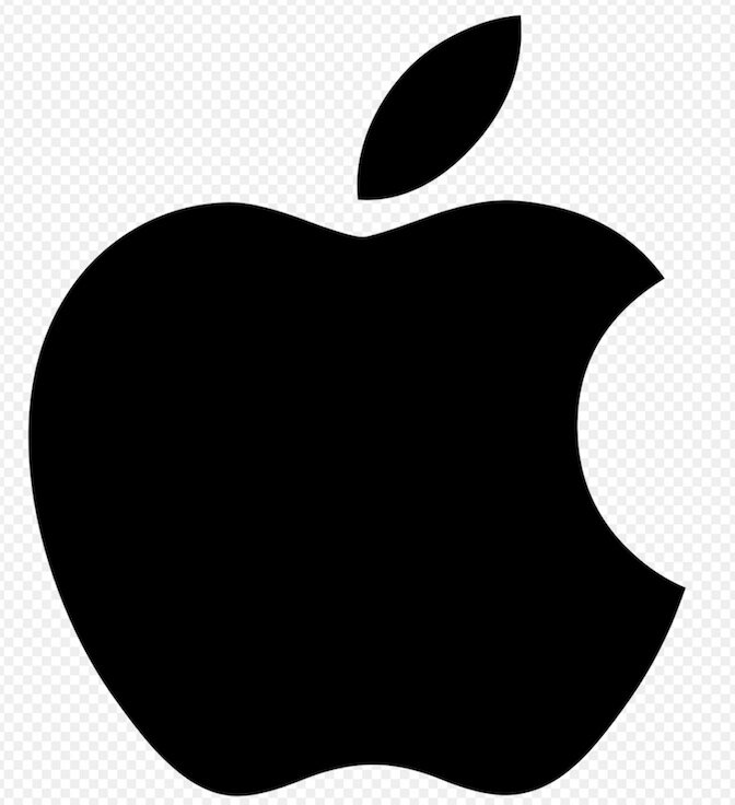 Apple logo: Wikipedia