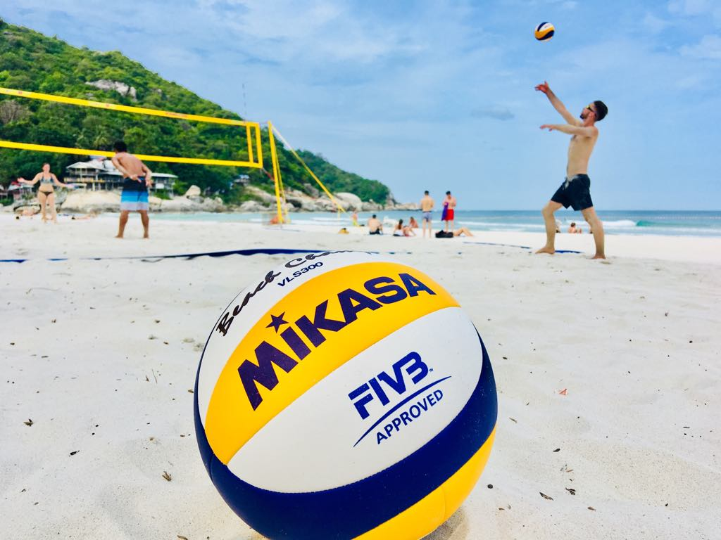 """- """"Great beach volleyball program!I took part in 5 day beach volleyball training program. It was well organised and in the court was in a beautiful location. Given beach volleyball tips really helped to improve my game. Furthermore, the uniqueness of this program that it considers other sides of beach volleyball: emotional, mental and physical. All of these components are vital parts for person who wants to become a good beach volleyball player. Charlie was a great and insightful coach! In addition, he and Katie provided constructive feedback that improved my game. I would highly recommend to take part in this program for anyone who is interested in playing and training beach volleyball!"""" - Edvin Dudinskij (Lithuania)Completed training 11th-15th August 2018"""