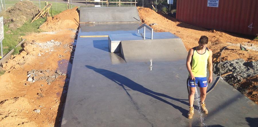 SKATE PARK CONSTRUCTION