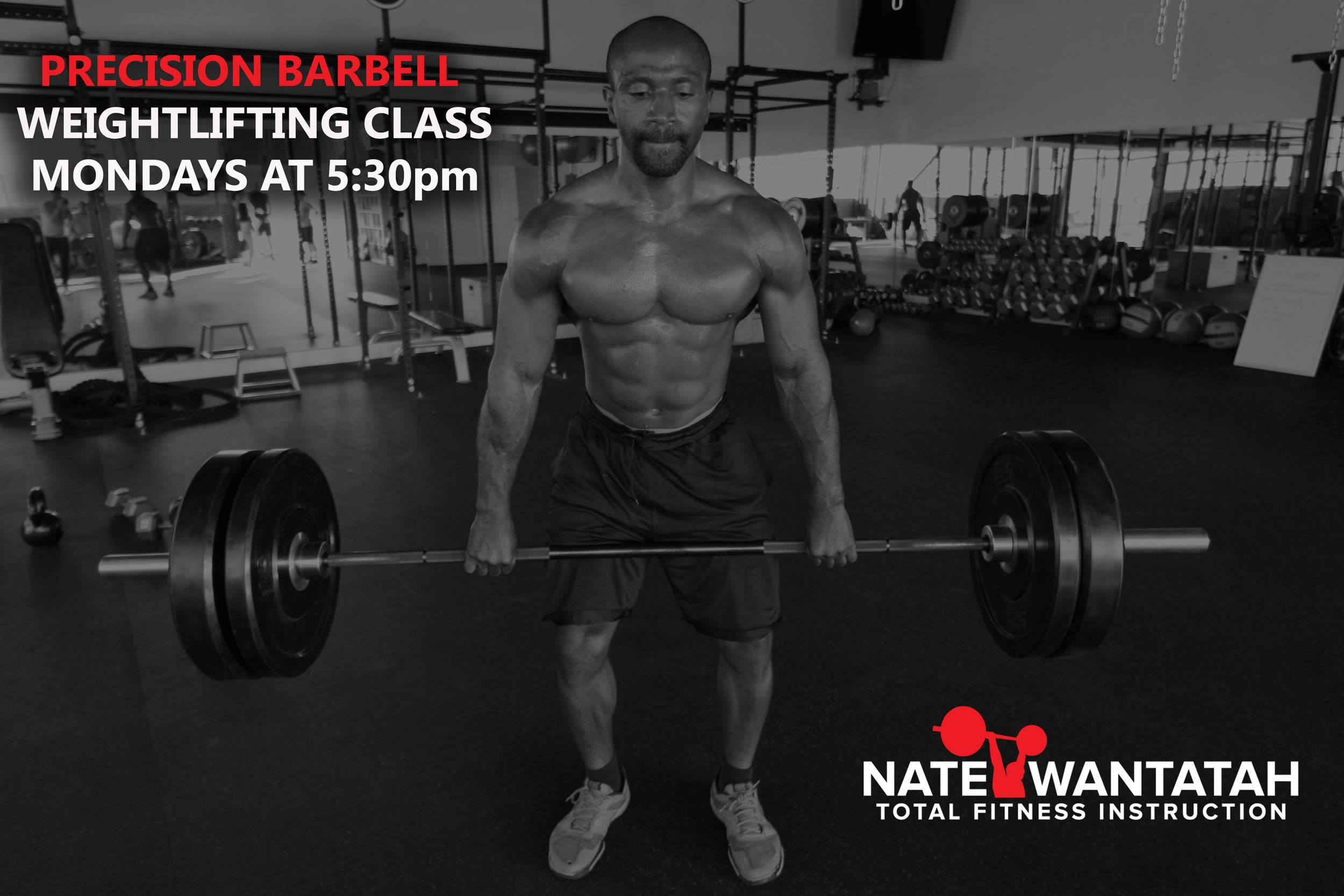 Nate Wantatah Weight Lifiting Personal Trainer