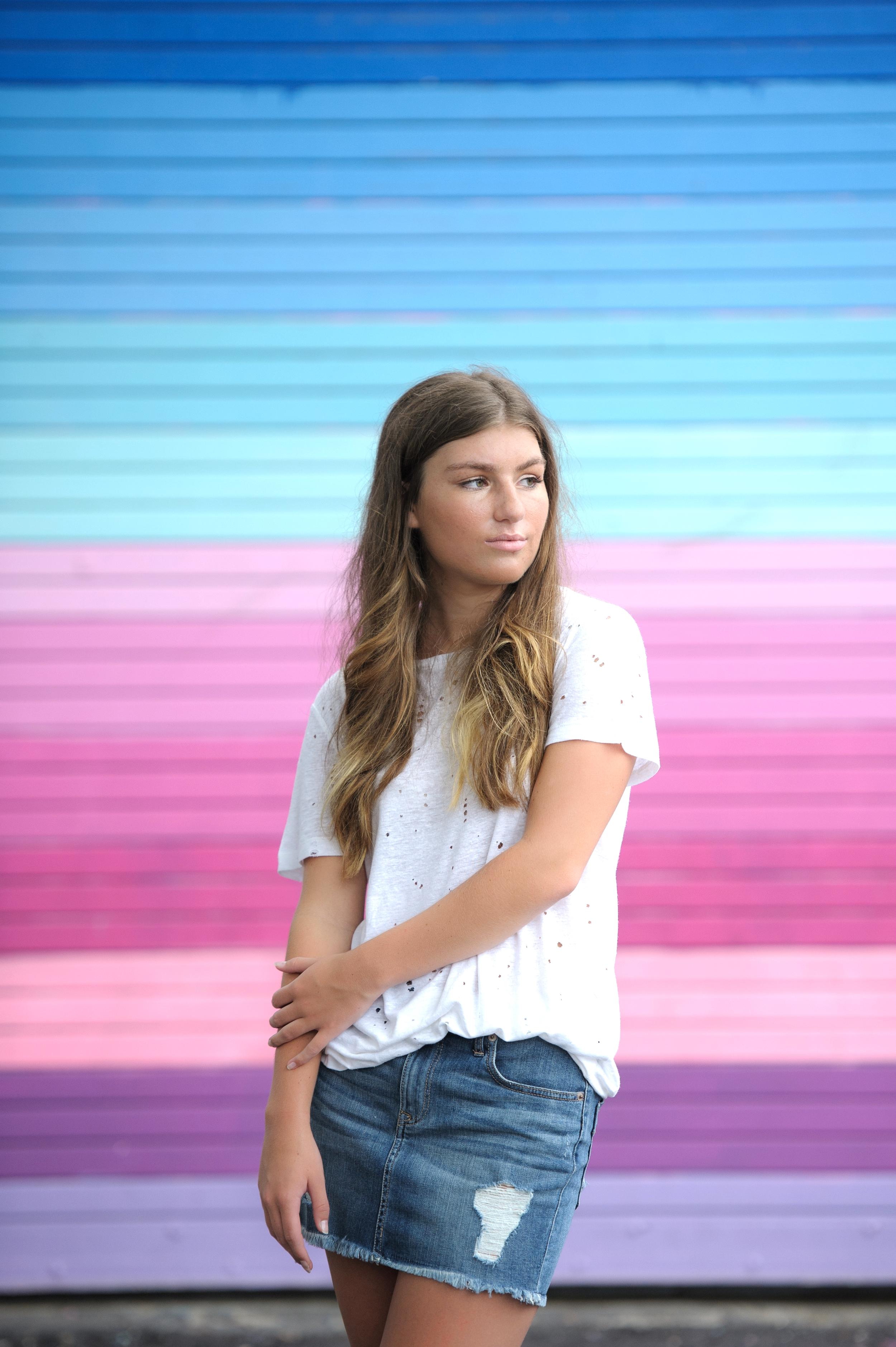 Maddie's Senior Portraits | Wynwood Walls