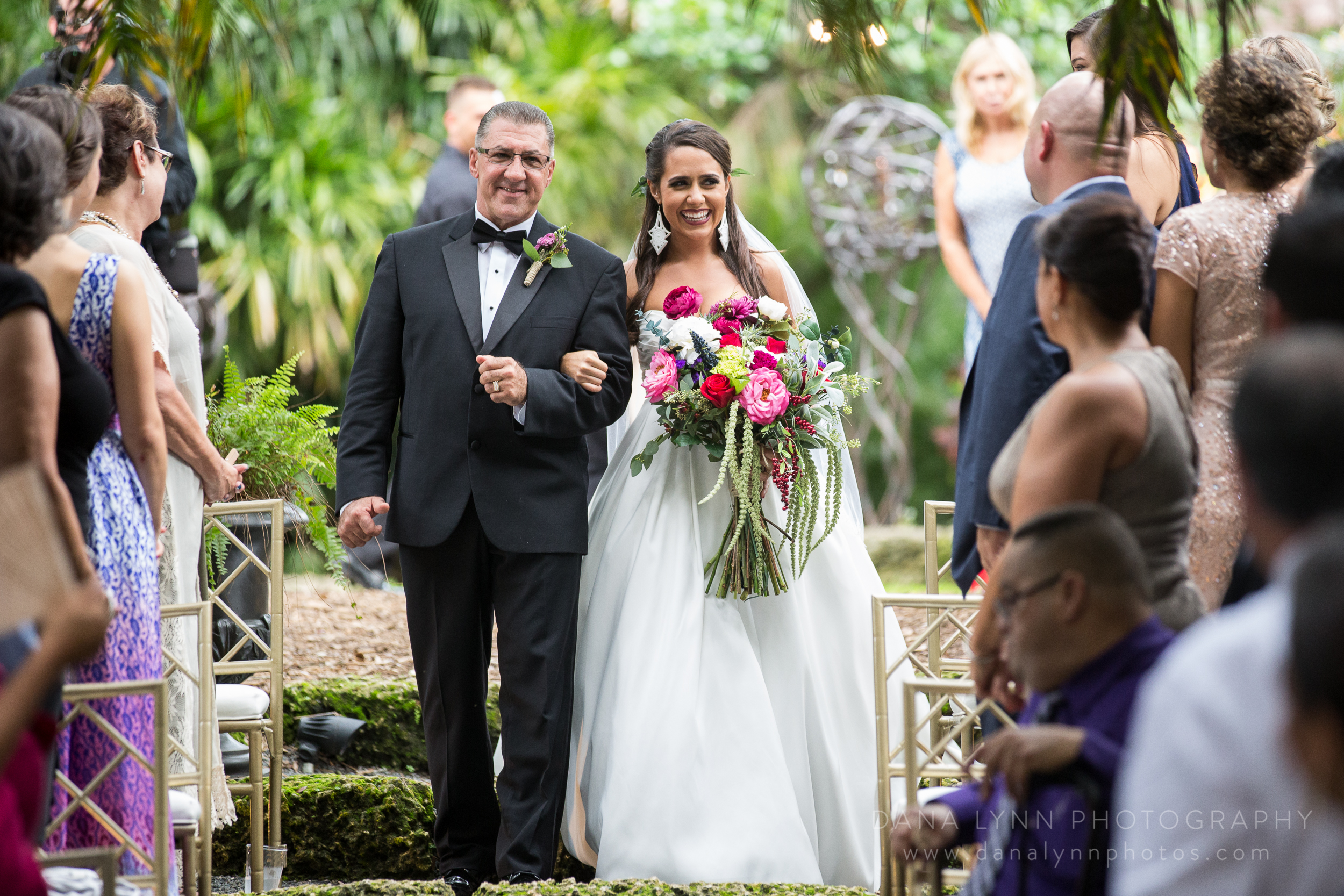 Wedding Photography by Dana Lynn Photography at The Cooper Estate in Miami, FL
