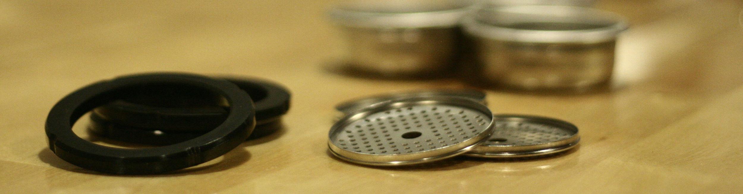 Espresso machine service and repair parts