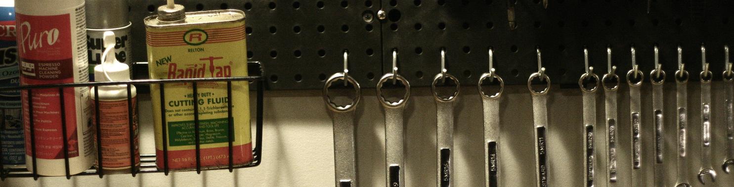Portland Espresso Coffee Repair Tech tools