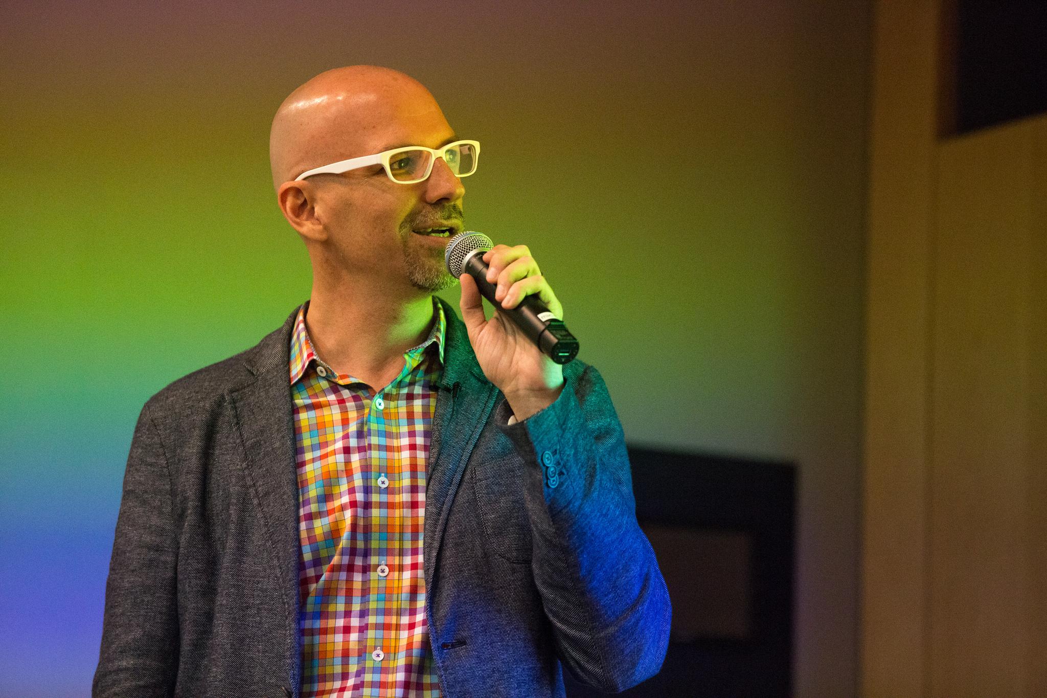 Dan Makoski at Design@Large Lecture Series