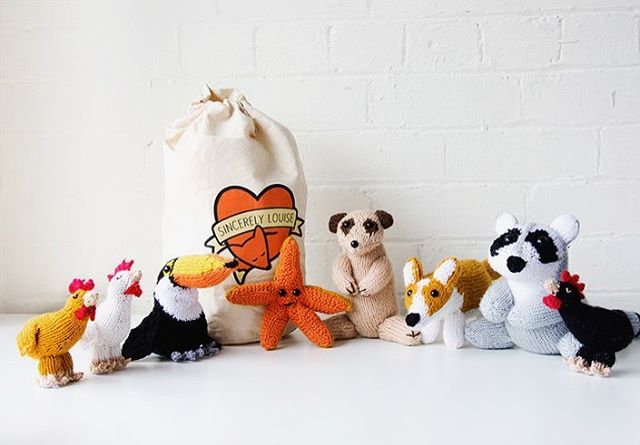 Gather round! It's your very last chance to grab tickets to the launch of The Knitter's Annual at our Sheffield HQ. I'm really looking forward to hosting the knitting themed pub quiz and don't forget about that £200 yarn prize for the winning team. If you can't make the launch you can always pre-order books and kits online or catch us on tour at @yarndale, @theknittingandstitchingshows (Ally Pally and Harrogate) and @etsysheff Etsy Made Local. ❤️ #sincerelylouise #knittersgonnaknit #craftsposure #knitinspiration #yanlove #amigurumi #crochet #handmade #ravelry #girlboss #supportsmallbiz #southyorksbiz #sheffieldissuper #sheffield #toymaker #etsysheff #etsyfinds #britishmade #scheepjes