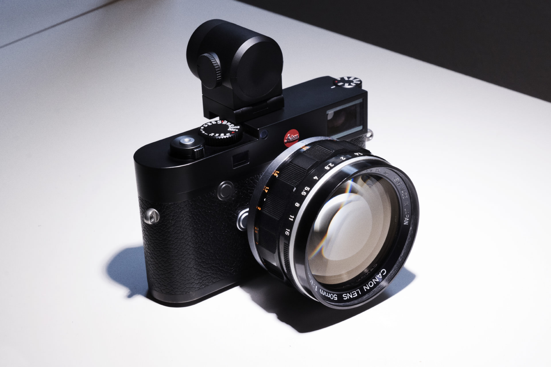 Leica M10 with Canon 50mm f0.95