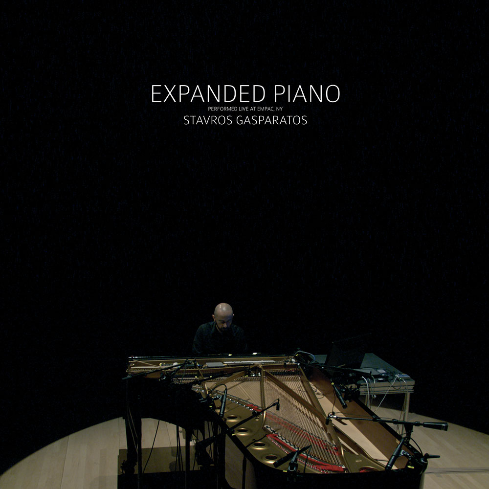 CD - LP Expanded Piano Artwork