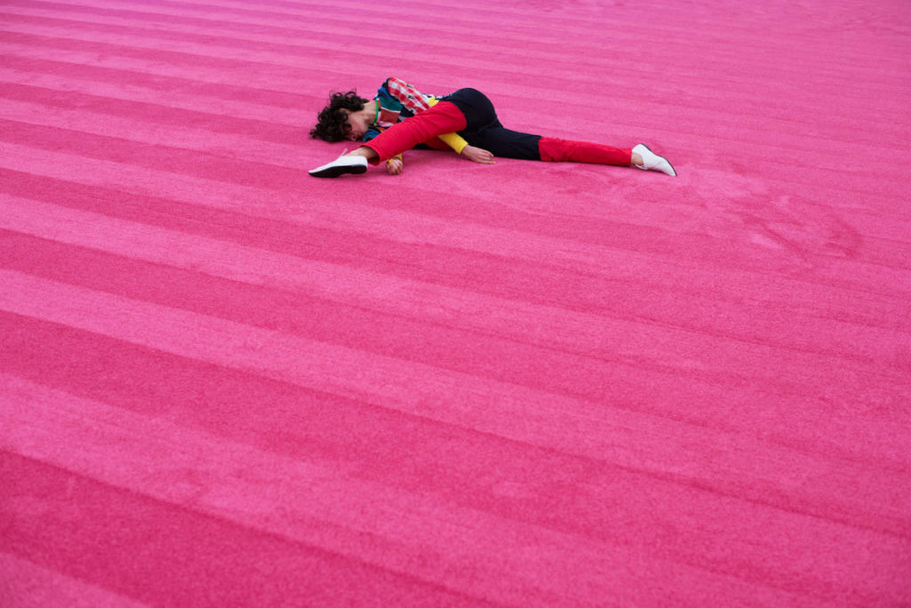Maria Hassabi - Staging Solo #2 London's Block Universe and Move 2018 Centre Pompidou, Paris -