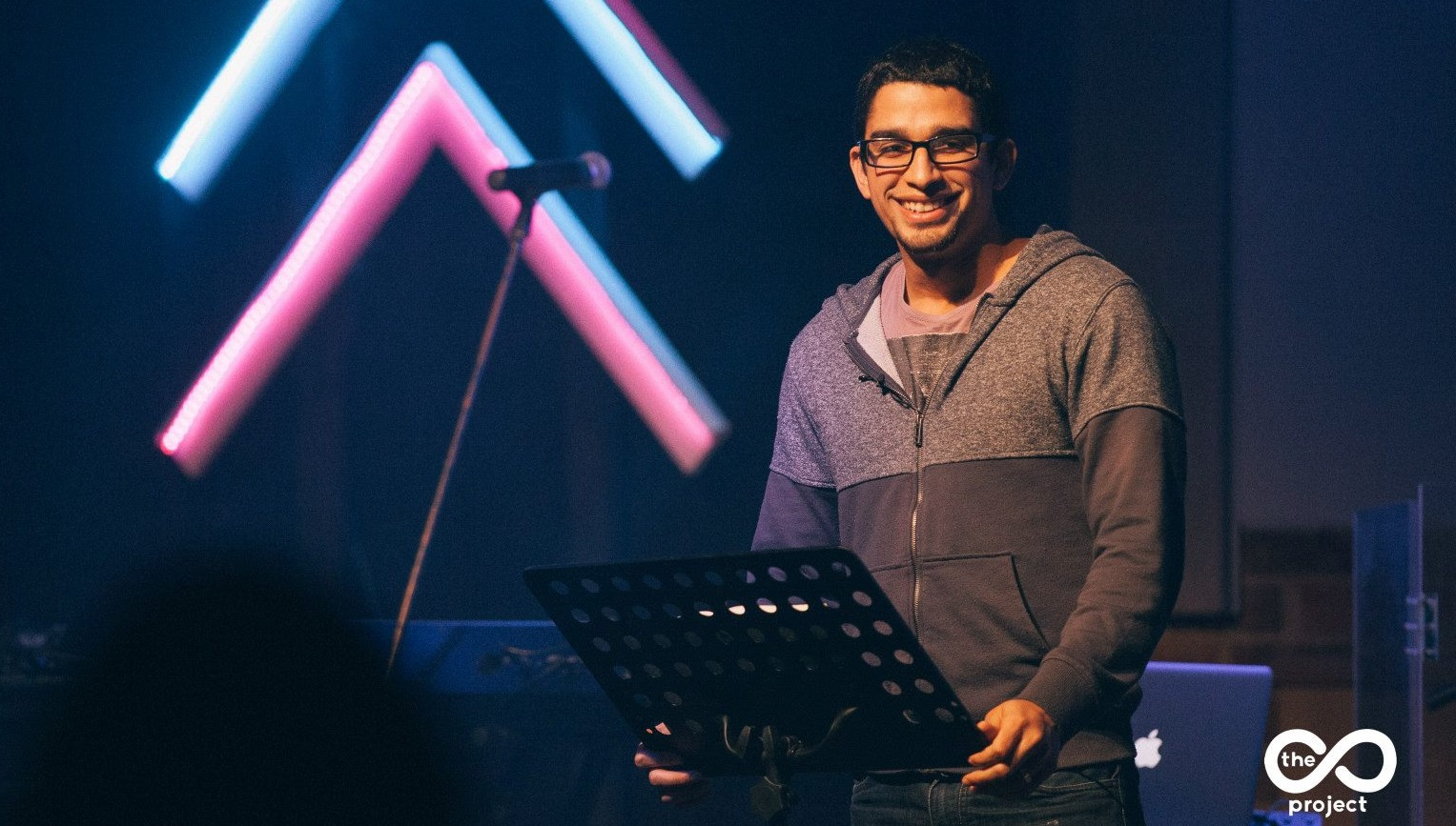 Pastor Marcos Torres at Livingston Church