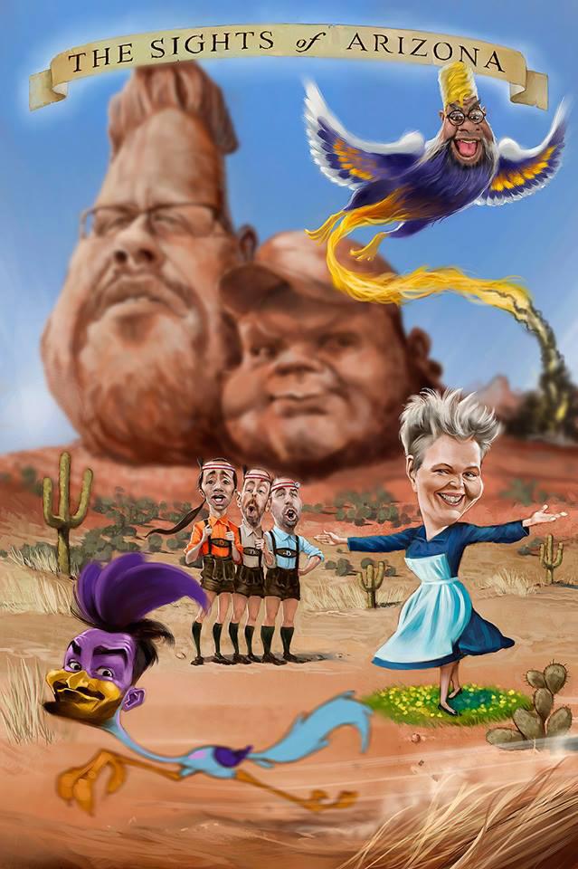 Die Sehenswürdigkeiten von Arizona von  Bernd Ertl