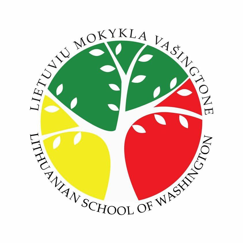 Mokyklos logotipas - Mokyklos lototipą sukūrė Gabrielė Rauktytė, dizainerė iš Lietuvos.Medis yra gyvybės, augimo, kelionės į praeitį, savo šaknų - protėvių - žinojimo simbolis.Geltona, raudona, žalia spalvos simbolizuoja Lietuvos vėliavą.