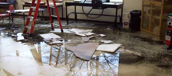 water damage marietta ga