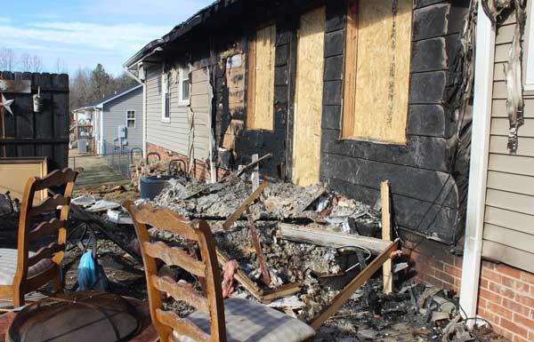fire damage marietta