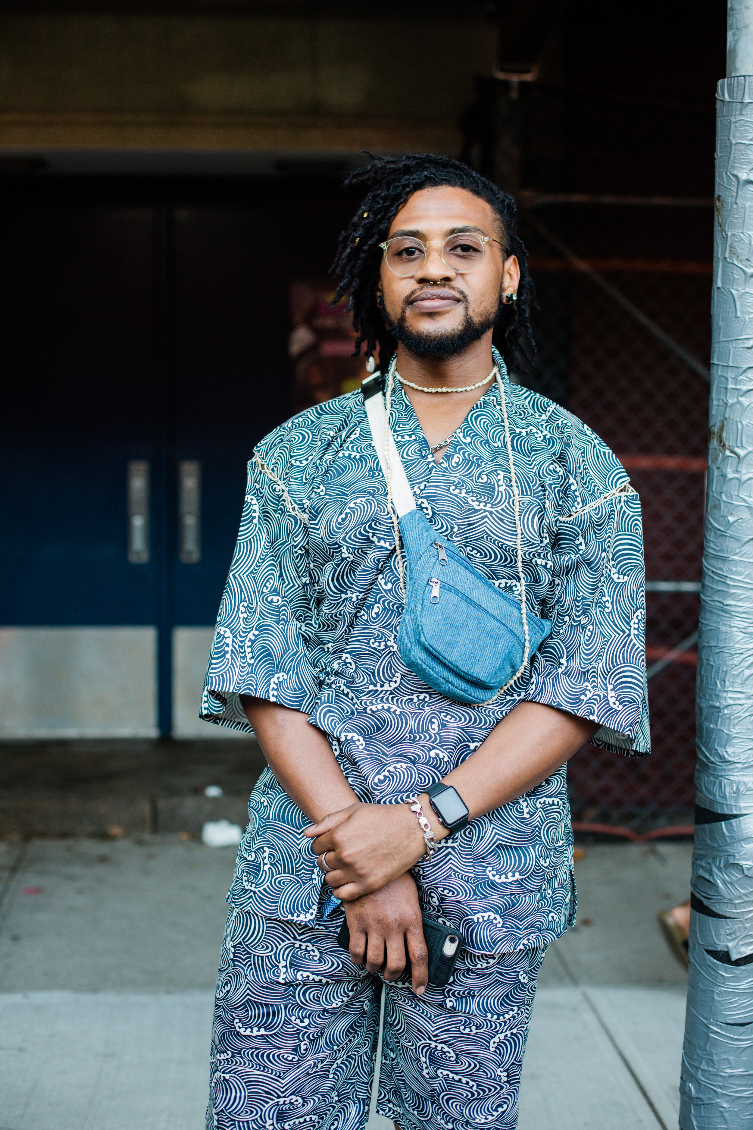 """domo crosby, 28 - """"The future of the resistance looks pretty strong to me as a millennial because of the fact that we are not our grandparents. We will not just stand by and let things happen anymore. We want justice and we will fight for it. We are willing to fight for it. Evidence shows we are willing to die for it. Enough is enough. Things need to change. I feel like it's becoming very strong and it's becoming more relentless.'"""