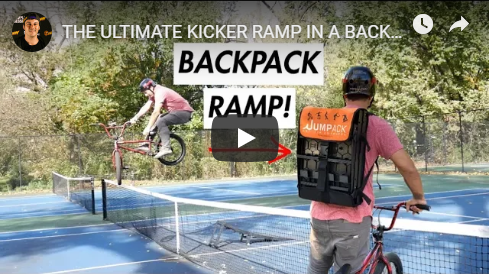 Media - Mike FedeWatch one of YouTubes top BMX riders put his new Jumpack to the test!Read More…