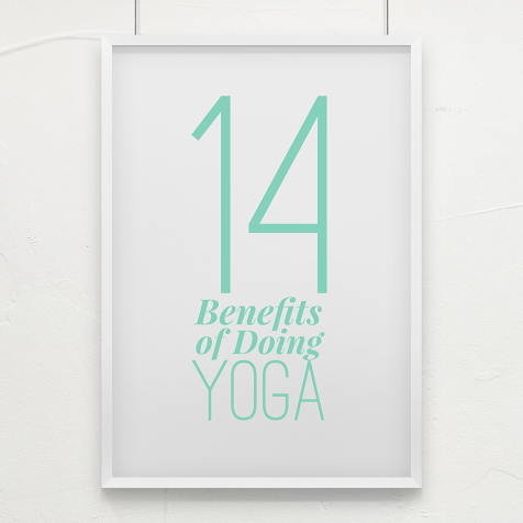 Yoga can help clear your mind to open your creativity and ease stress.