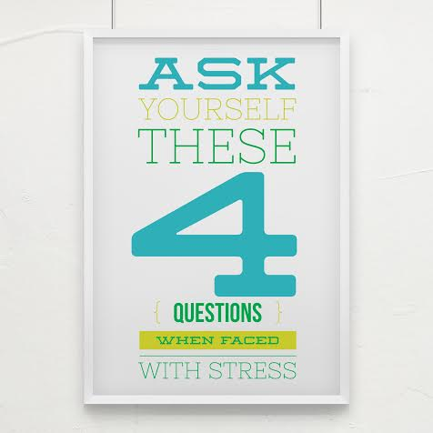 Stress can take you on a ride you can't get off of. These four questions will help you get control over your stress and kick it out the door. Head over to meetwithtisa.com to start putting stress in its place.