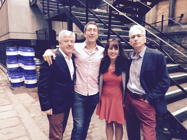 Harry Brunjes, Emma Brunjes, Andrew Johns & Owen Lewis…The Gilded Balloon, Edinburgh