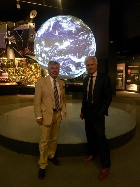 Harry Brunjes & Andrew Johns at The Science Museum