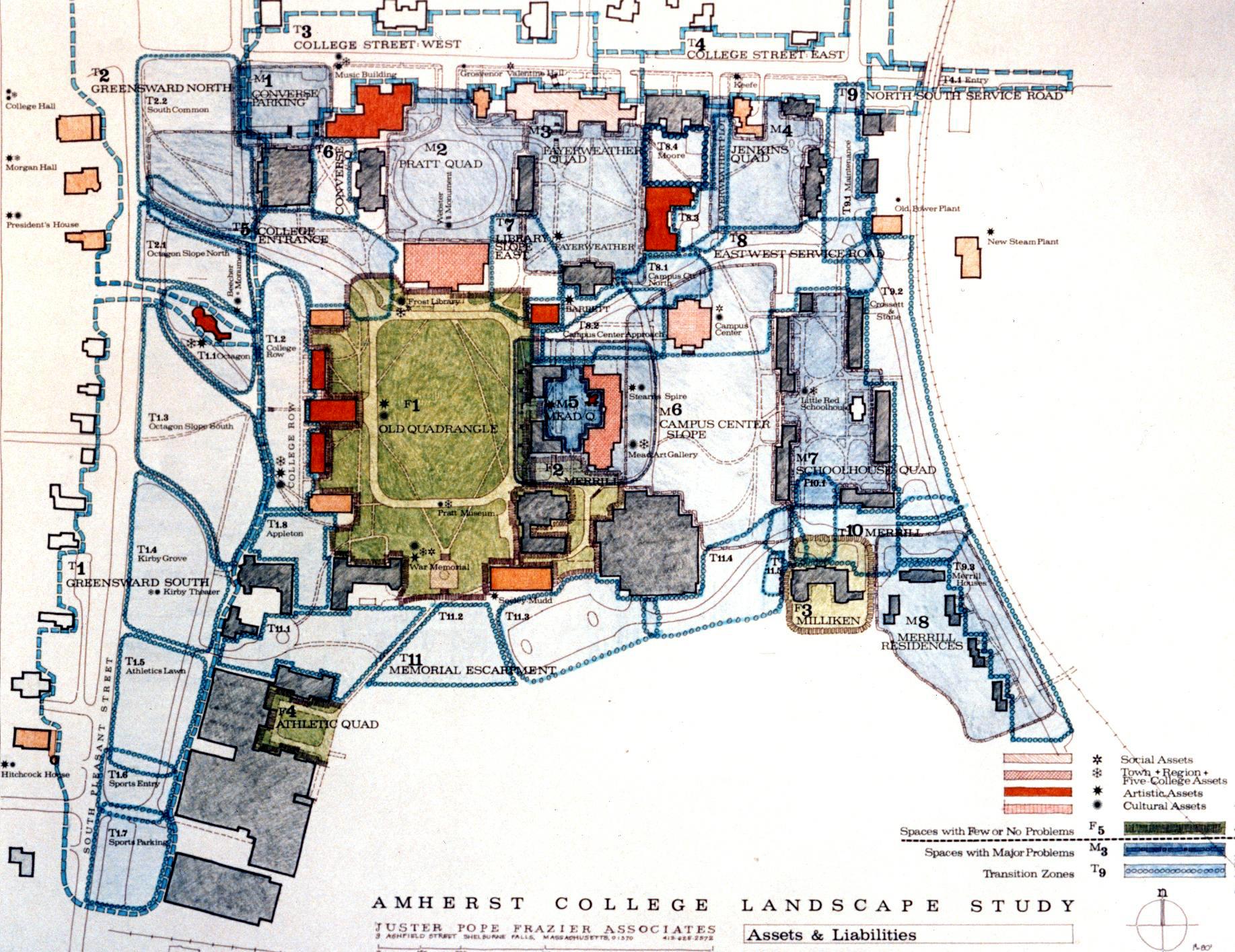 Amherst College Landscape Plan