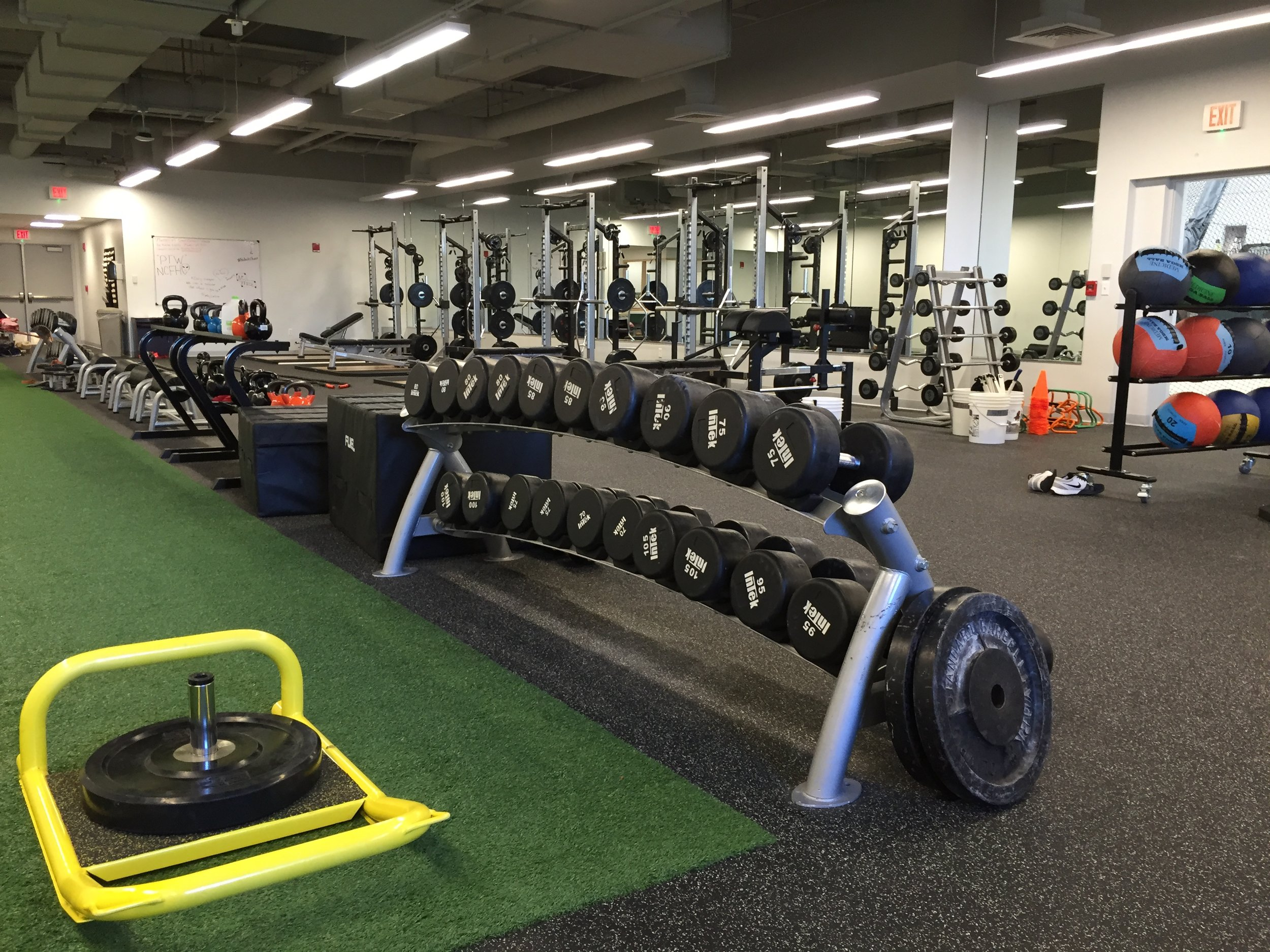 Nichols College Chalmers Fitness Center Dudley MA