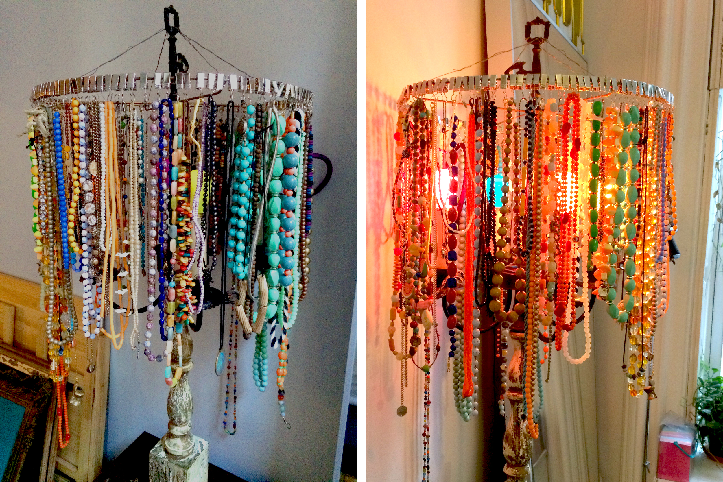 Necklace Lamp