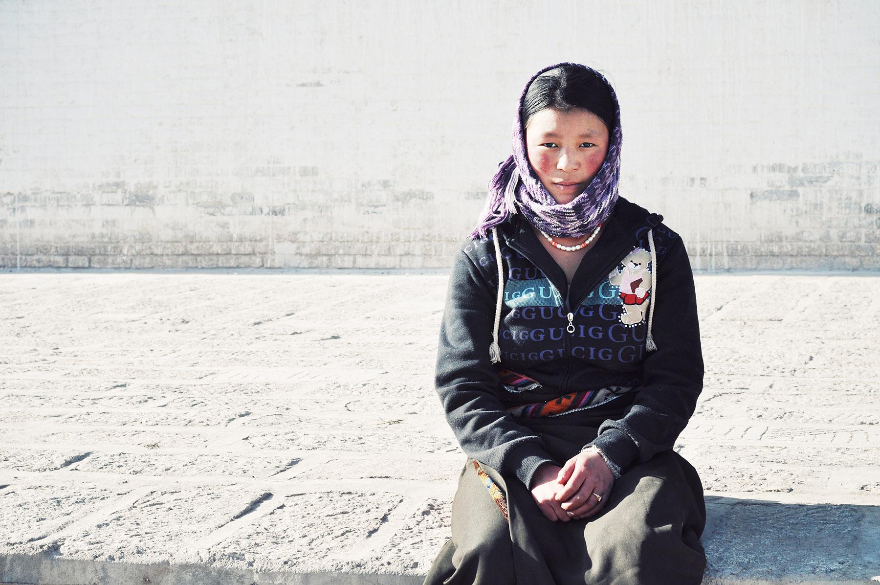 Girl in Rebkong, Amdo