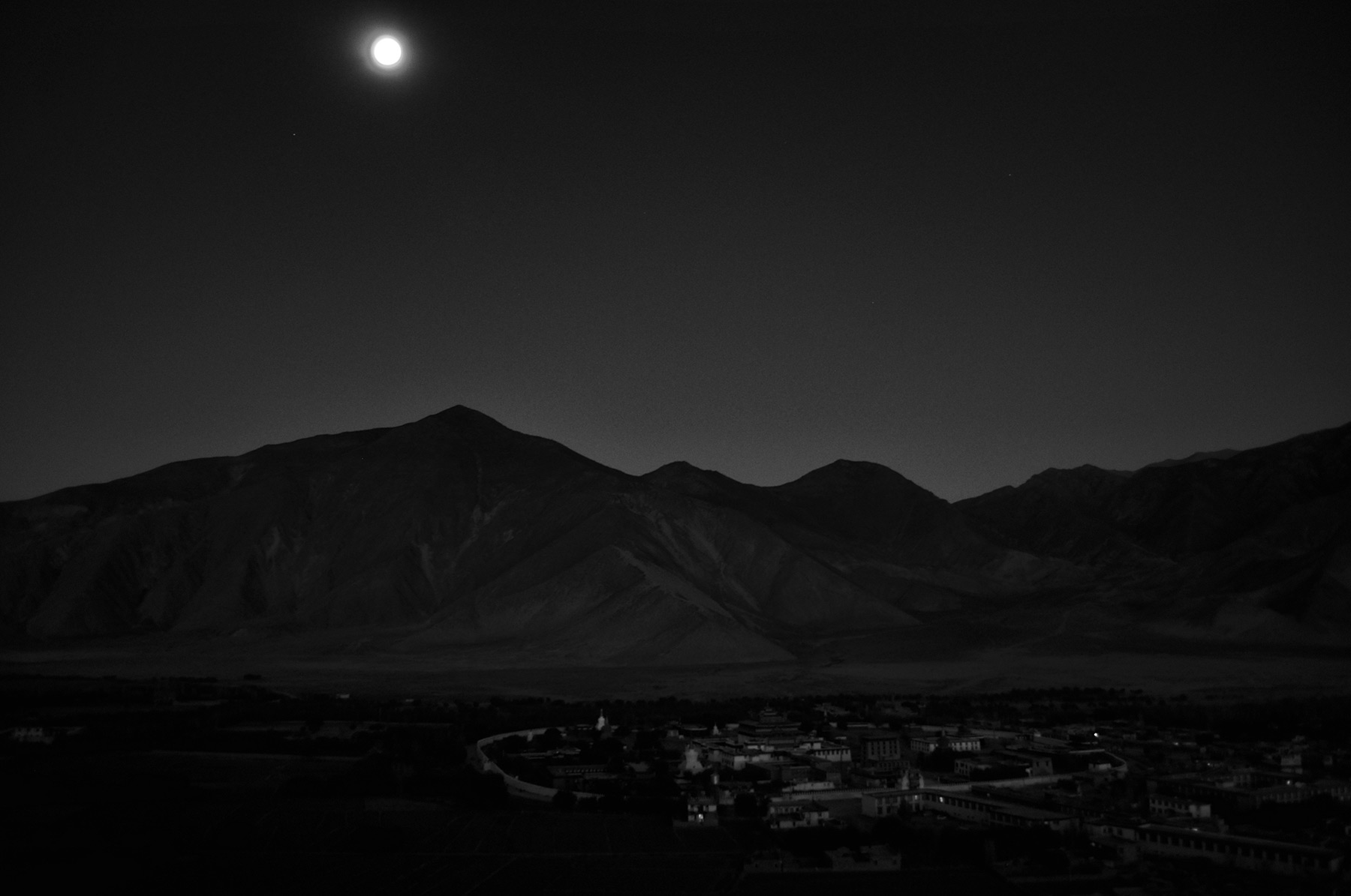 Full Moon Over Samye II, Tibet