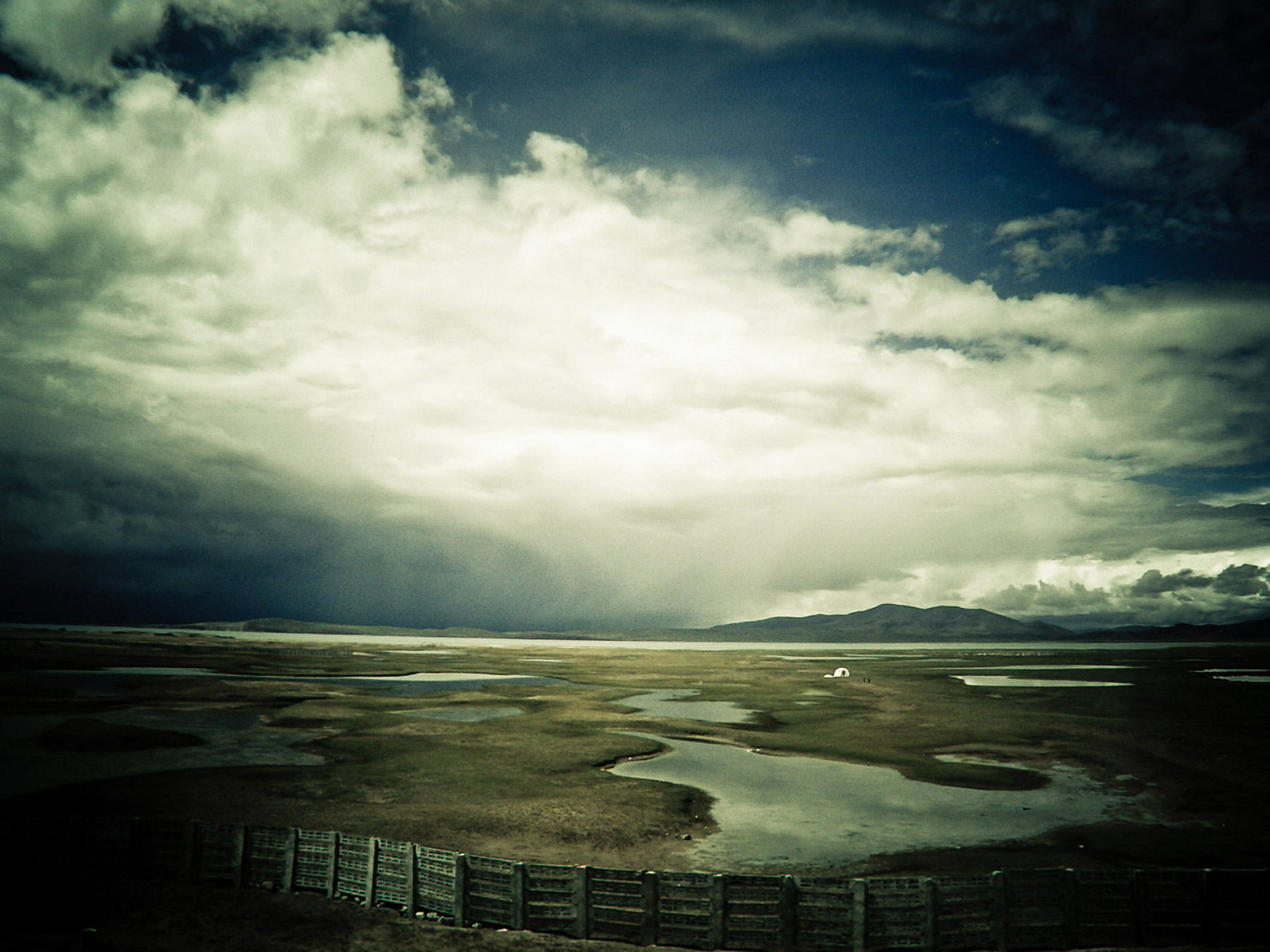 Fenced In, Tibet