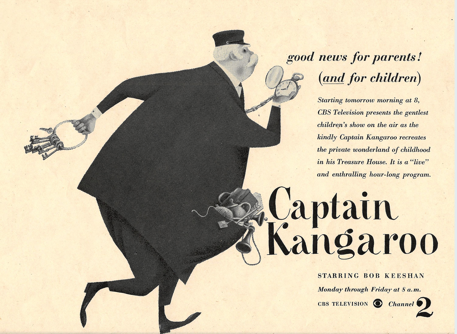Captain Kangaroo, Oct 2, 1955