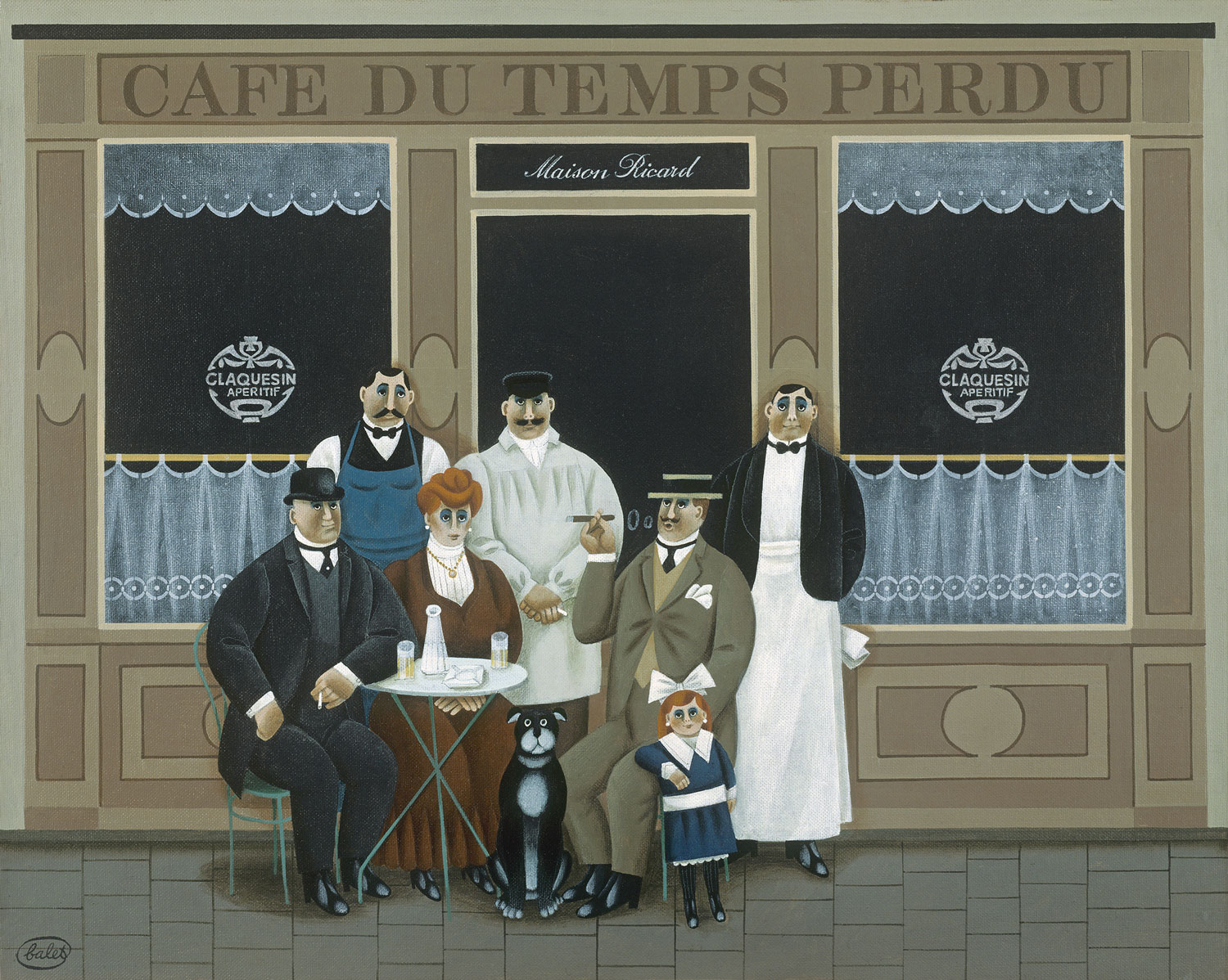 Cafe du Temps Perdu (Cafe of Time Lost)