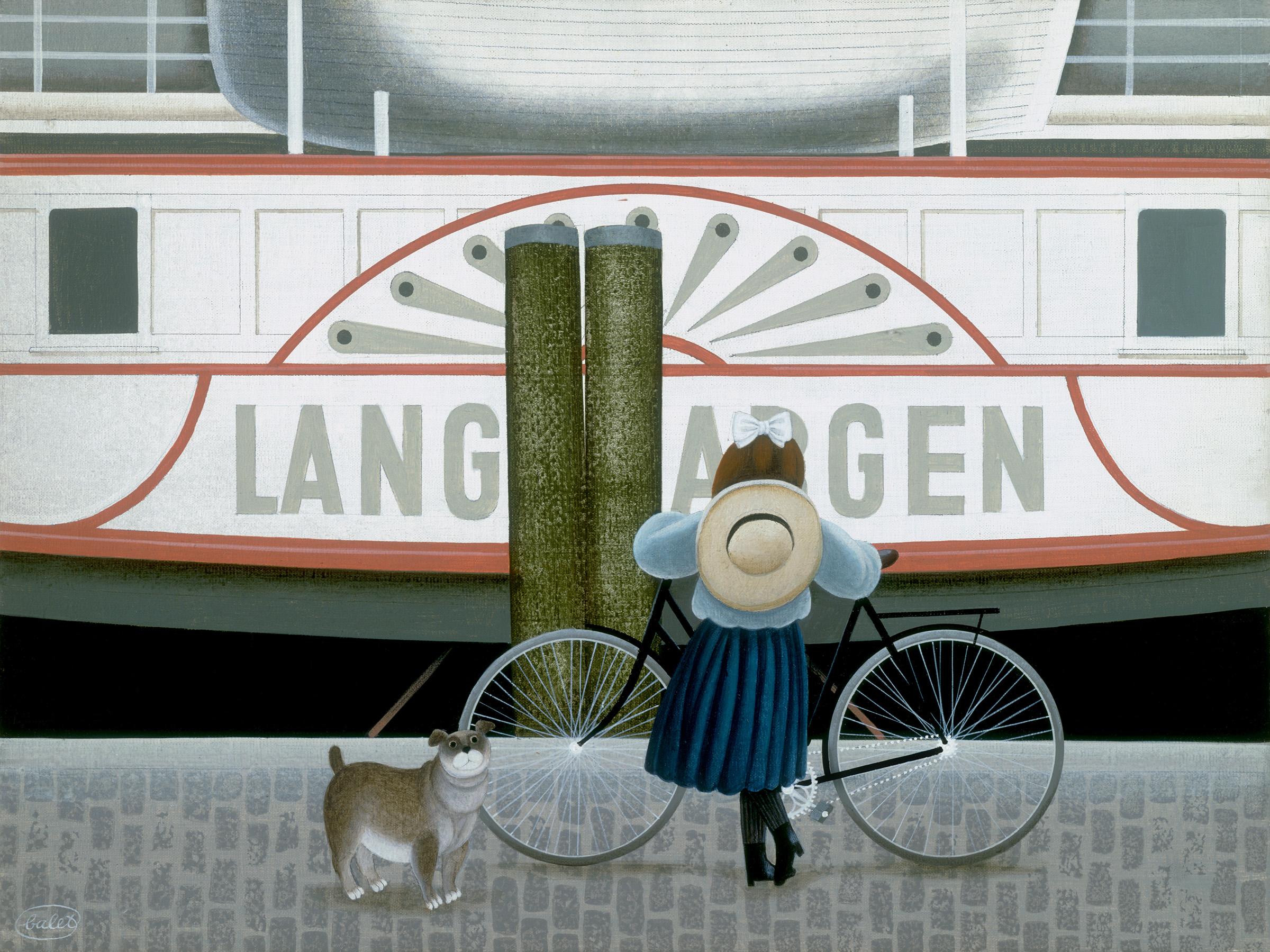 Waiting for the Langenargen