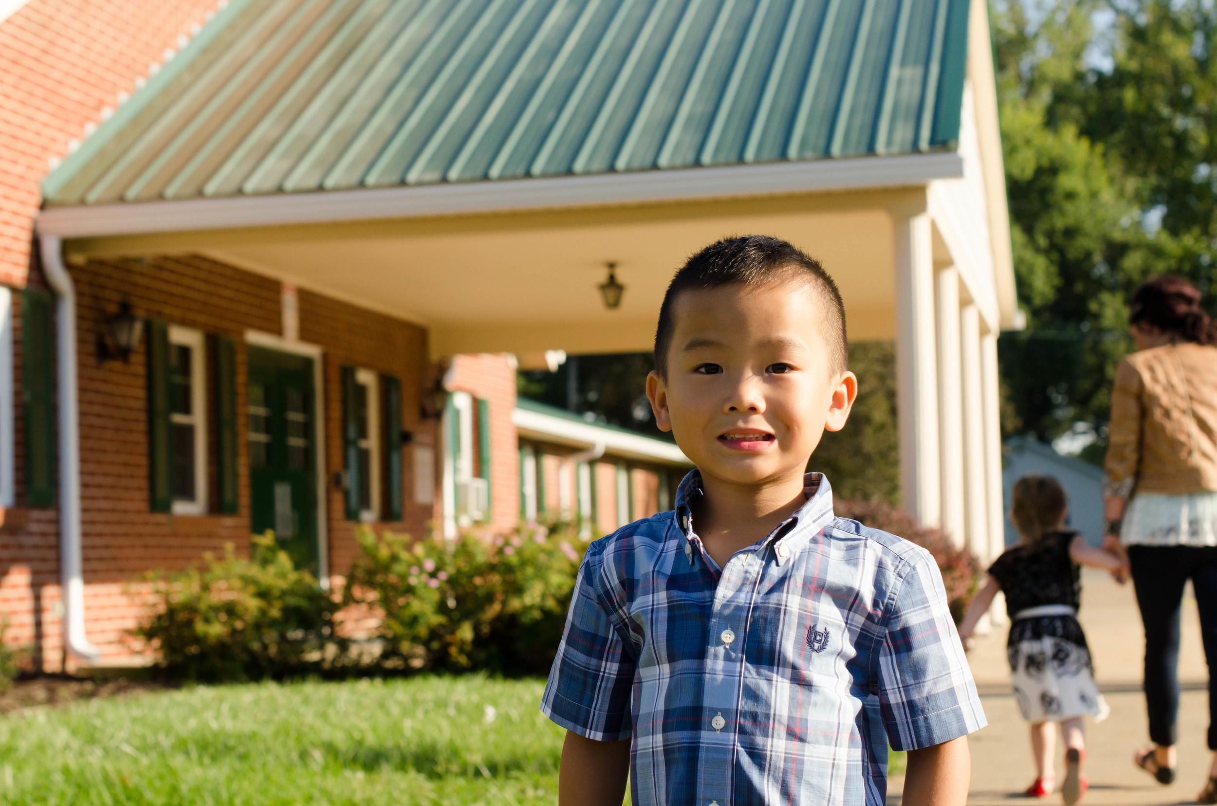 First Day of Preschool at North Terrace Christian Preschool