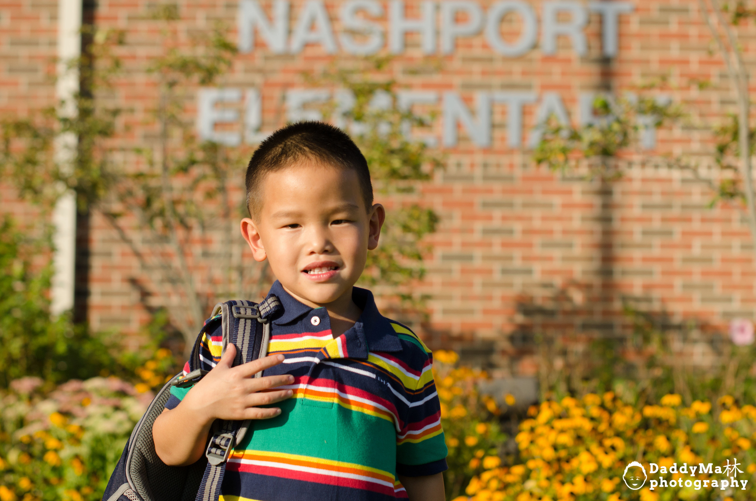 First Day of kindergarten at nashport Elementary