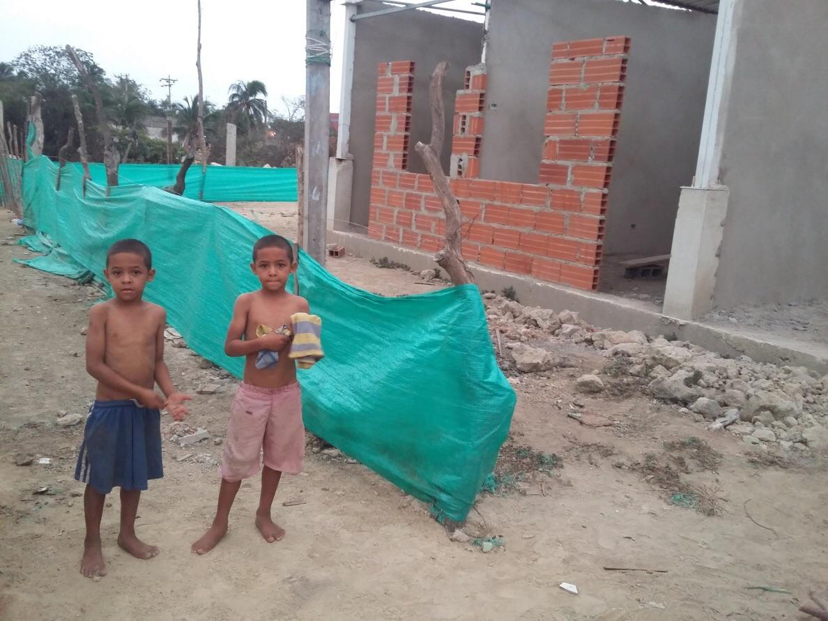 Children in the community.