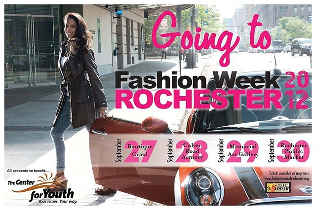 Celebrate 10 Years with Fashion Week Rochester! Check out this throwback from #FWR2012 and check back every Monday for more - 2012 was a good year right?  #FWR2019 #ThisisROC #FWR #ROCtheRunway #FashionWeek #FashionMatters