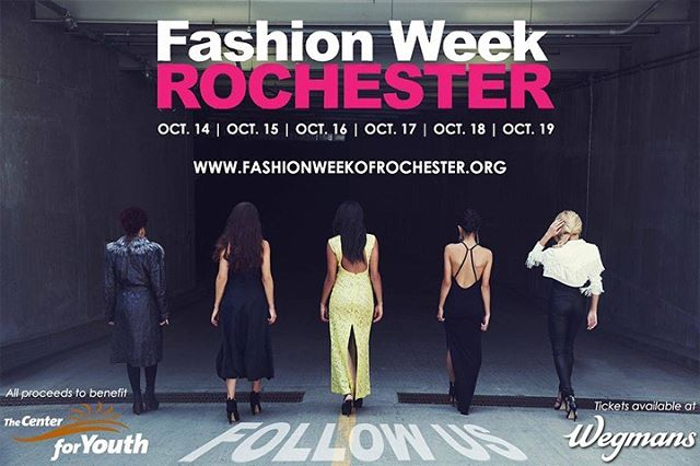 """Let's go all the way back...to 2014 for #FlashbackMonday. See you next week when we say """"oh, hey"""" to 2015. . . . #roc #rochester #fashion #fashionweek #FWRx #FWR2019 #roc #roctherunway #thisisROC #fashionrocks #flashback"""