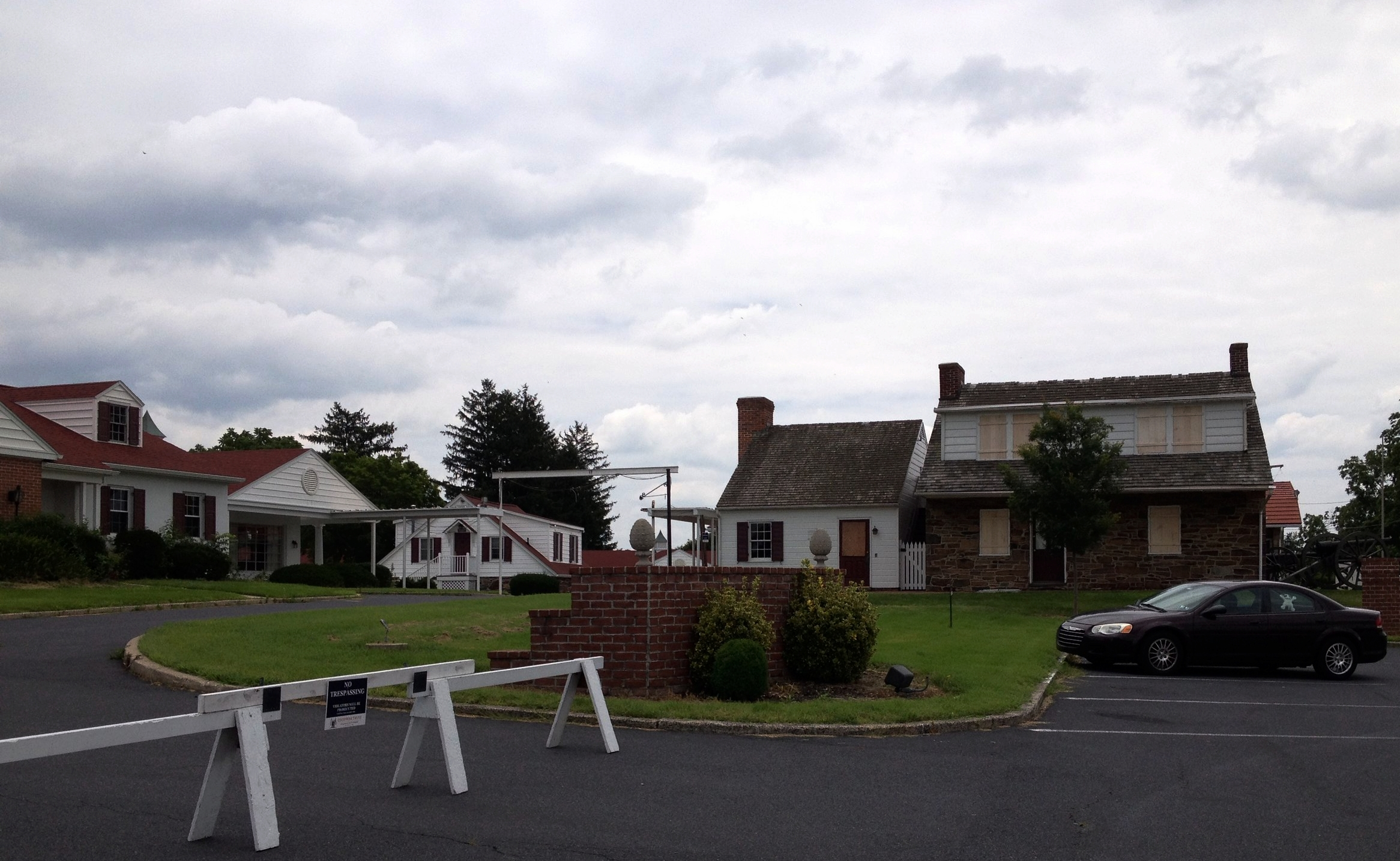 Mrs. THompson's House/General Lee's Headquarters on the edge of Gettysburg