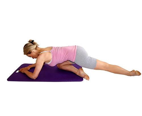 2. Piriformis stretch