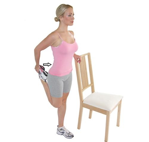 7. Quadriceps Stretch (standing)