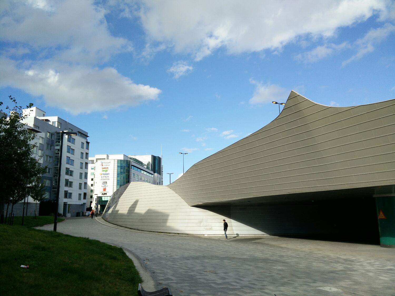 Artist Martti Aiha was part of the team designing the Jätkänsaari bridge in Helsinki.