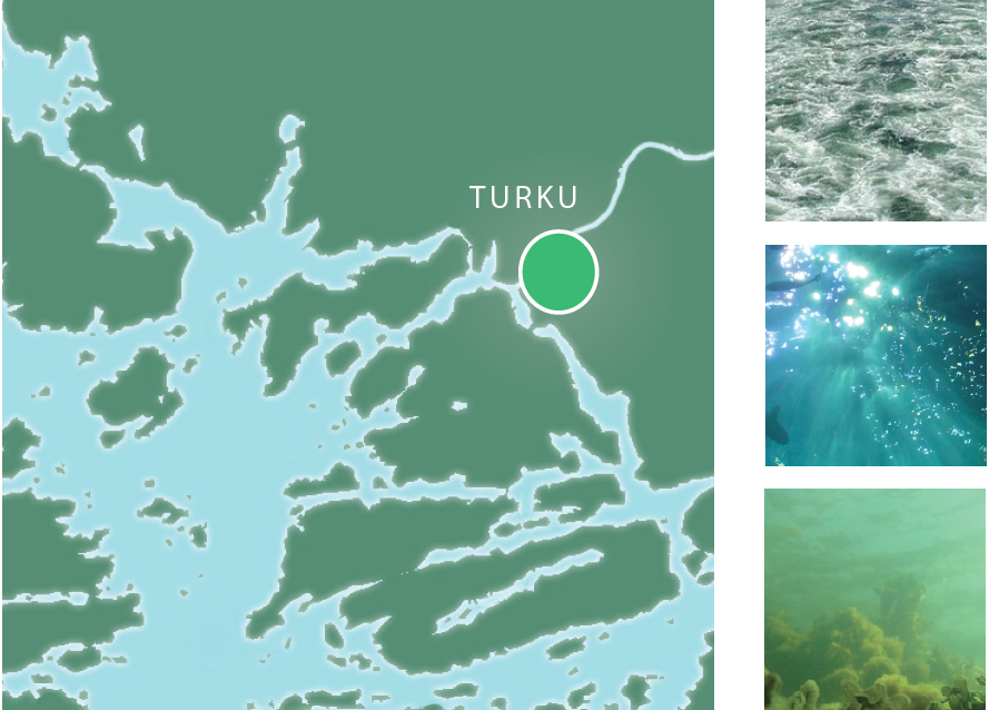 Turku is situated in the southern coast of Finland, on the eastern shores of the Baltic Sea.