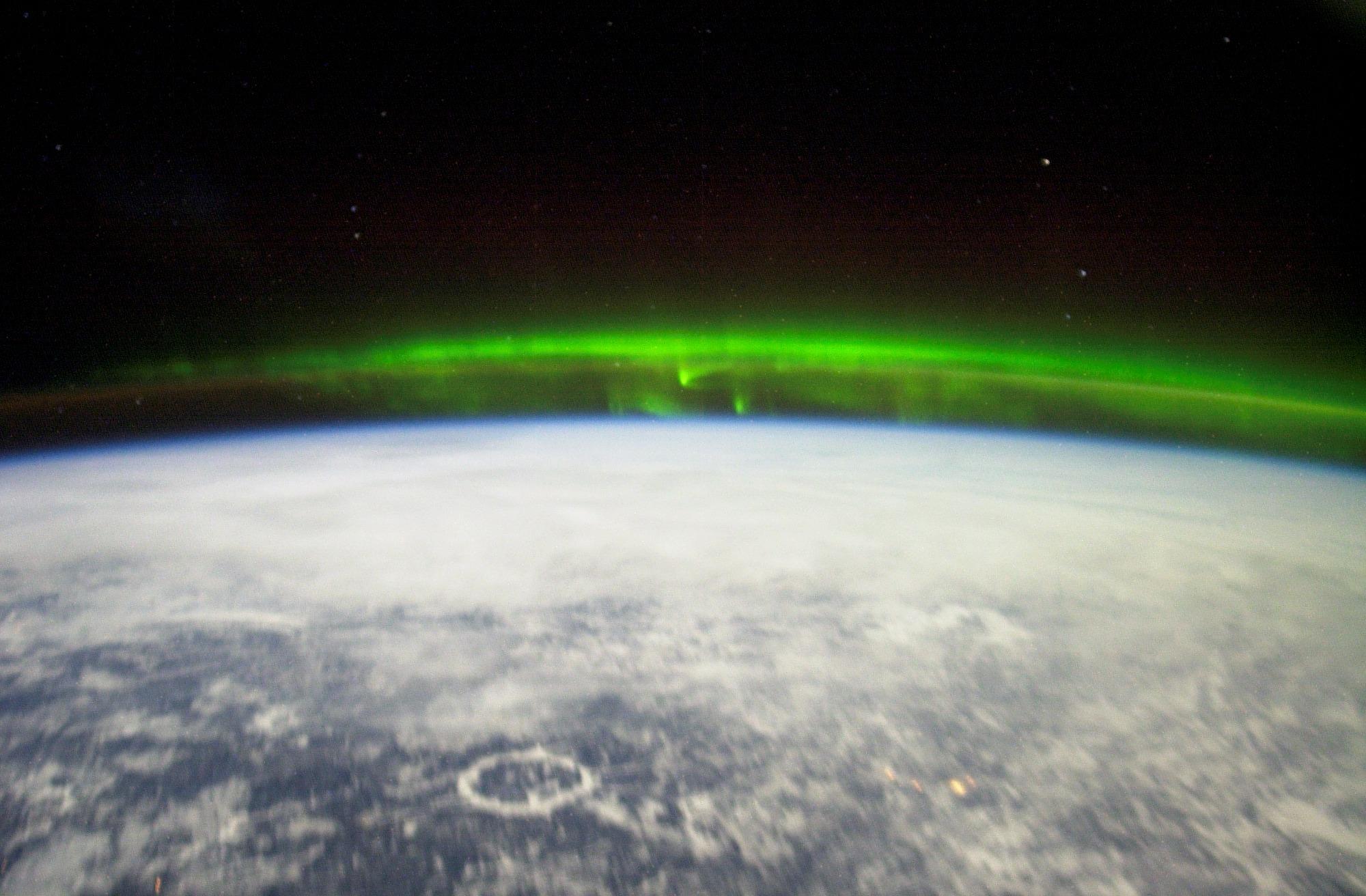 NASA photo of Aurora Borealis
