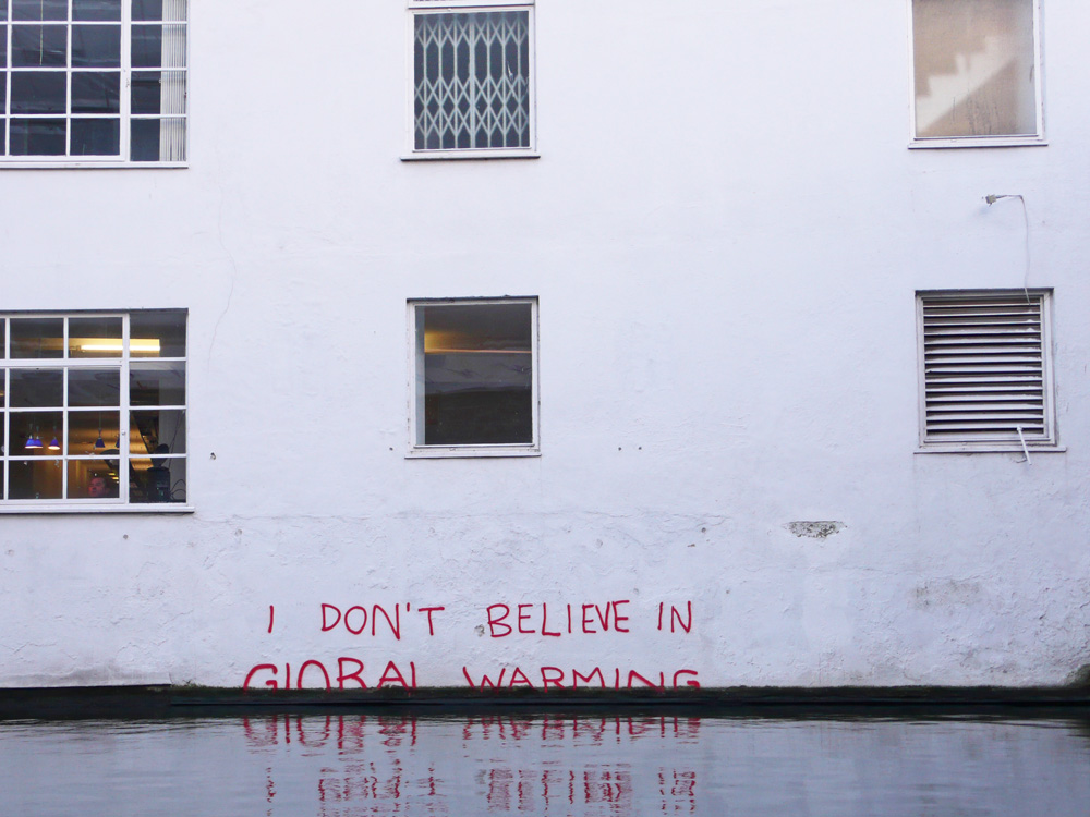 Banksy, Global Warming, 2009. Photo by  Duncan Hull