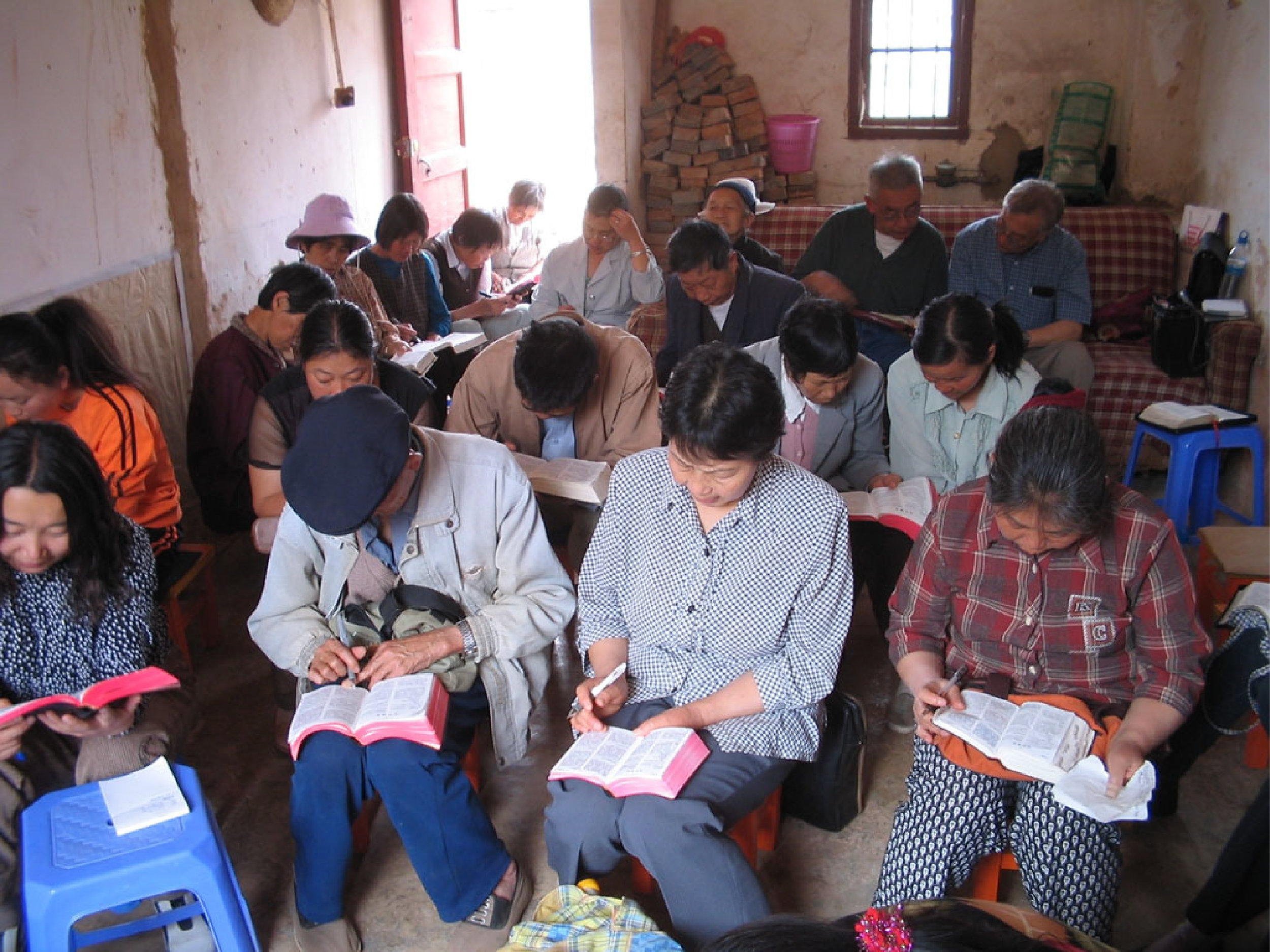 Chinese Christians in a Home Church